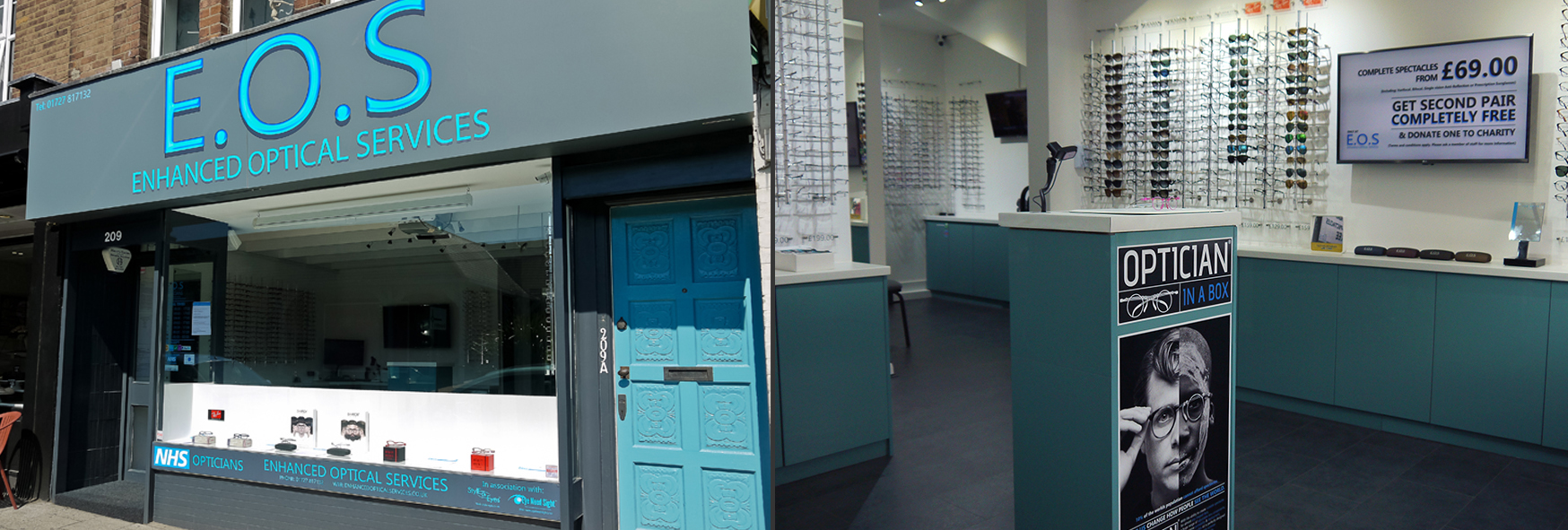 EOS - Enhanced Optical Services - St Albans Optician