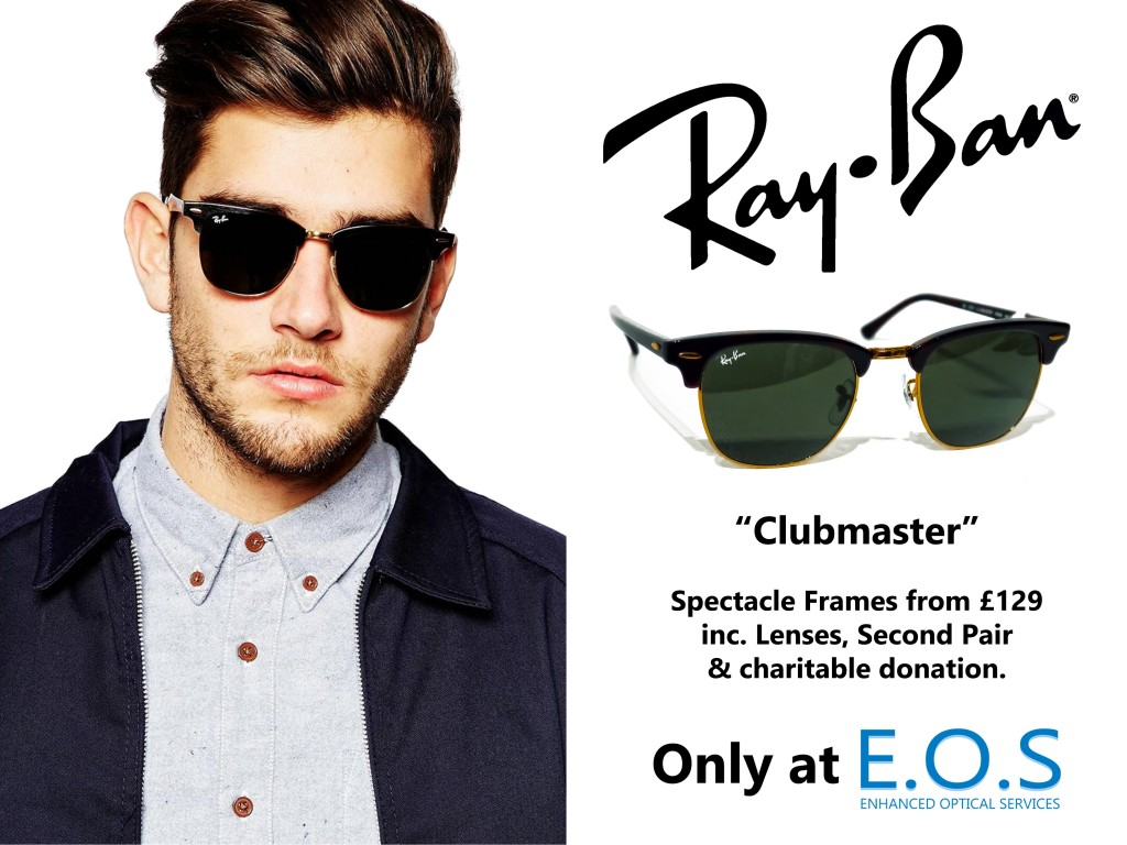 6537f91d2c Ray-Ban – Clubmaster Feature – Enhanced Optical Services – St Albans